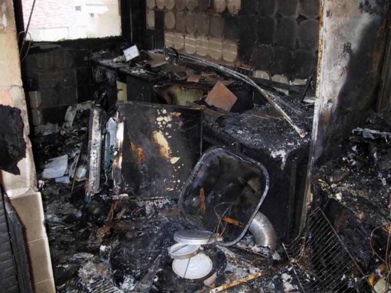 Incendio cocina
