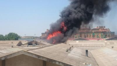 Incendio Anjoma
